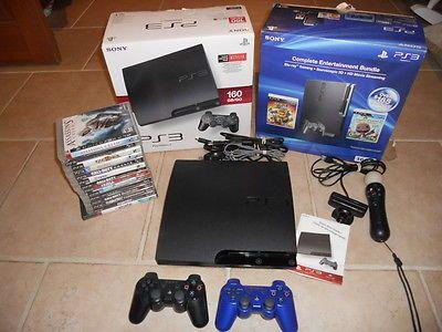 Sony PlayStation 3 160gb Console Bundle 14 Games Extras HDMI Very Good https://t.co/Vi4LcD0xF4 https://t.co/Cr4dOjeNcJ