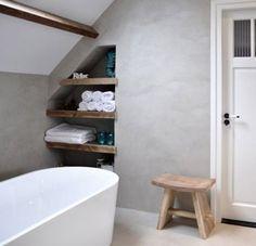Betonlook badkamer voorbeelden - Badkamer / toilet | Pinterest ...