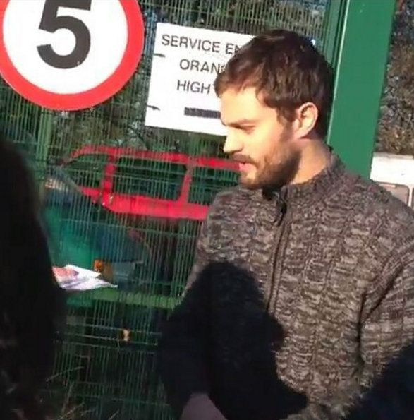 Jamie Dornan spotted in Belfast filming the Fall. Photo taken by @miss_steele89 . December 10th, 2015 http://everythingjamiedornan.com/gallery/thumbnails.php?album=36 https://www.facebook.com/everythingjamiedornan/