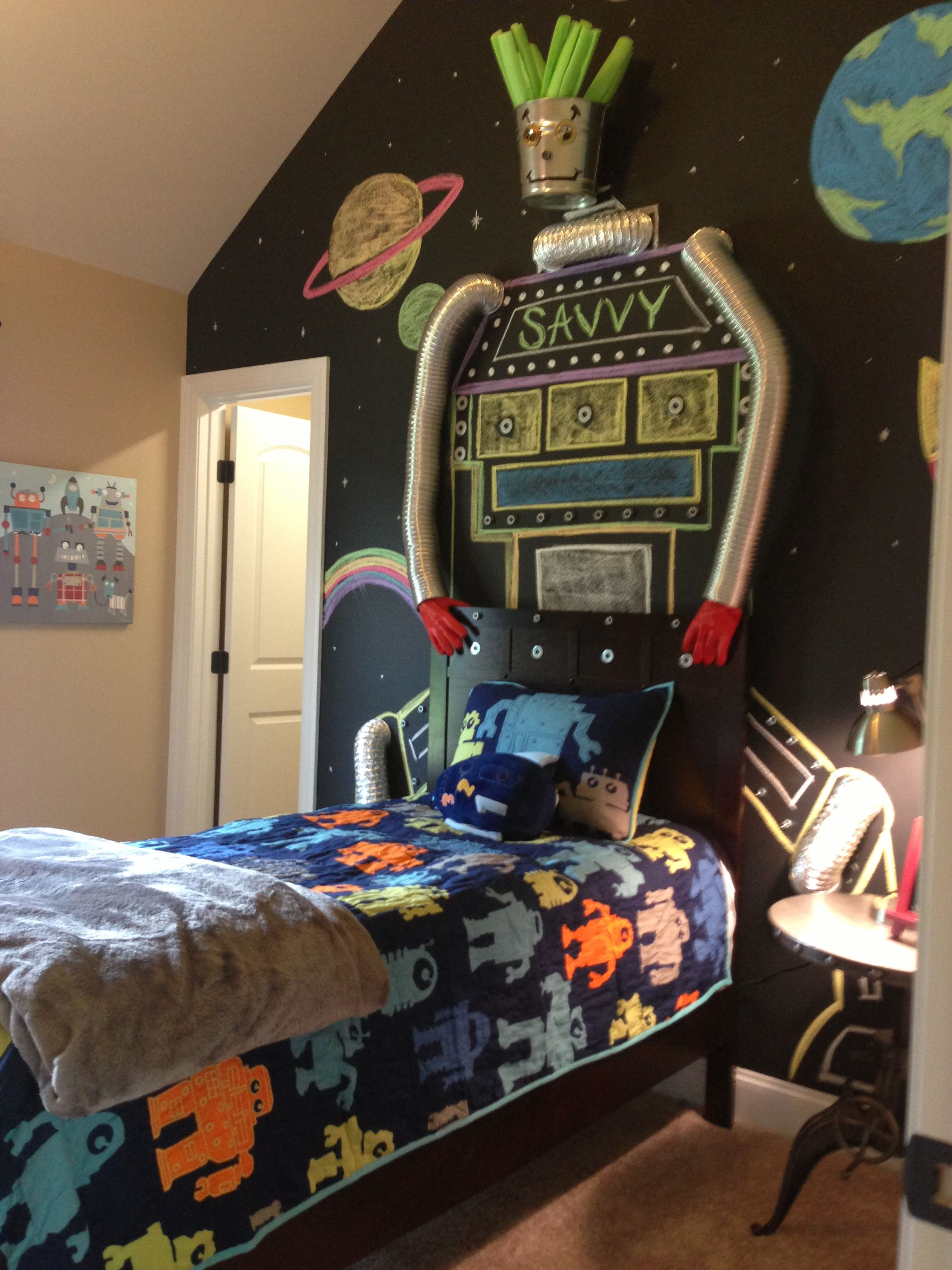 Robots Check Out This Children S Bedroom Design The