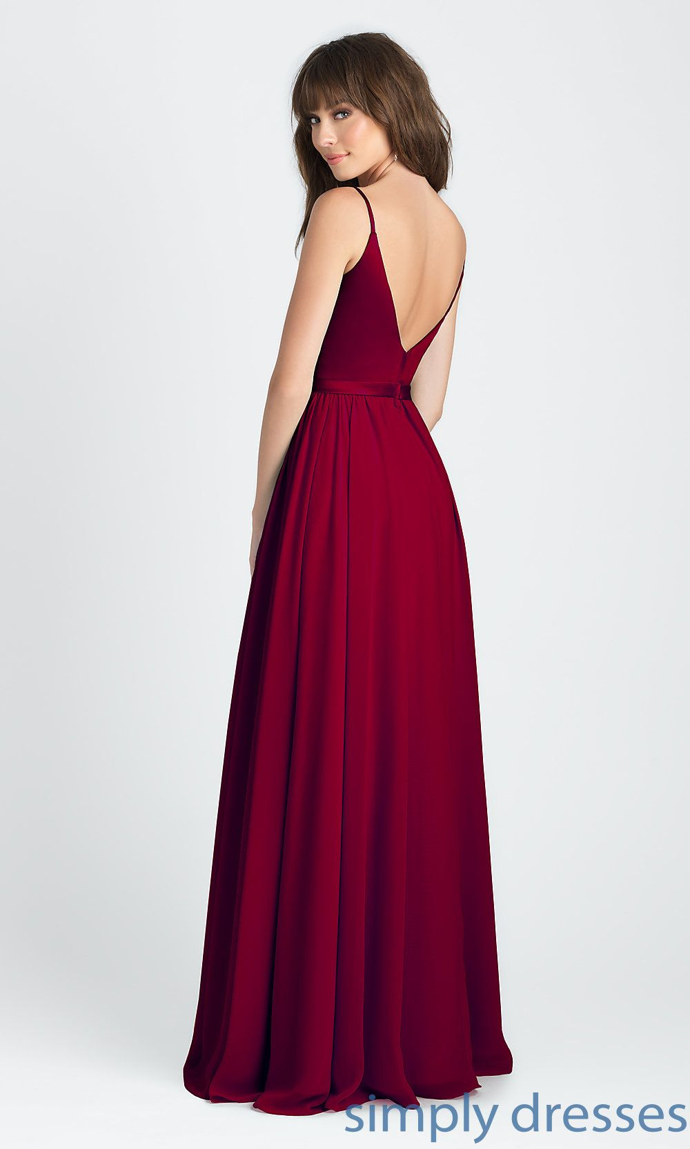 Classic Red Prom Dresses