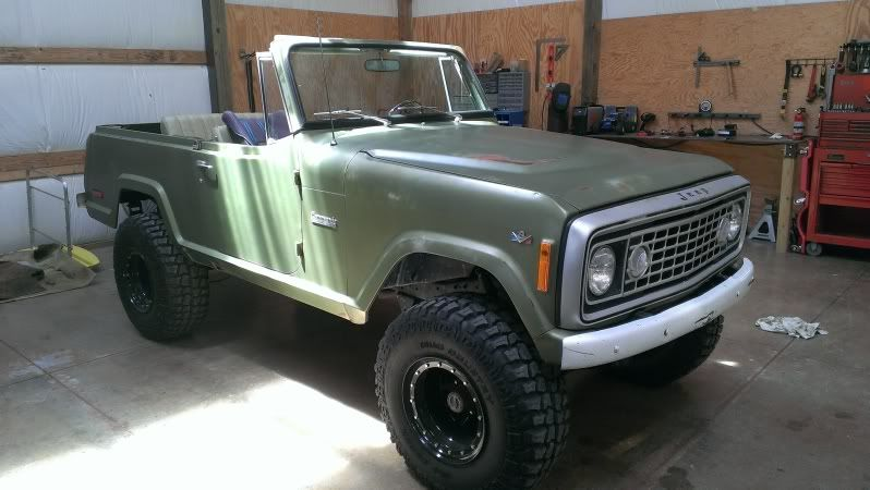 1972 jeep commando lifted, brushed grille, lo pro bumpers1972 jeep commando lifted, brushed grille, lo pro bumpers