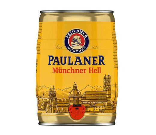 bia Paulaner Munchner Hell 5l
