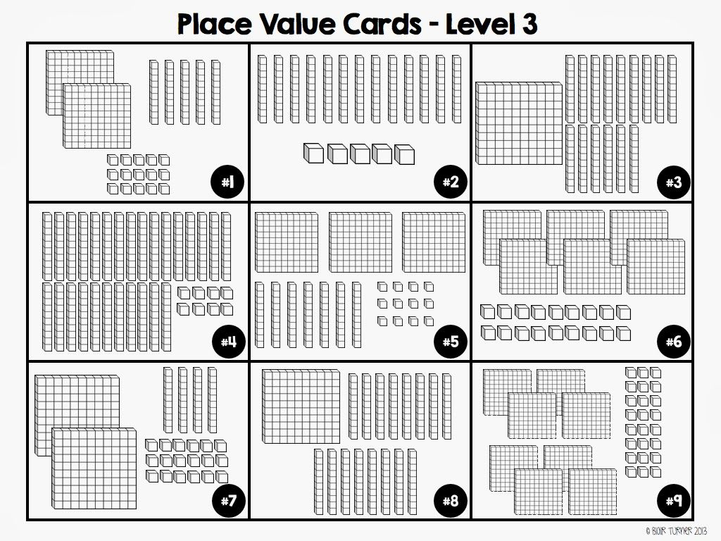 Place Value With Base Ten Blocks