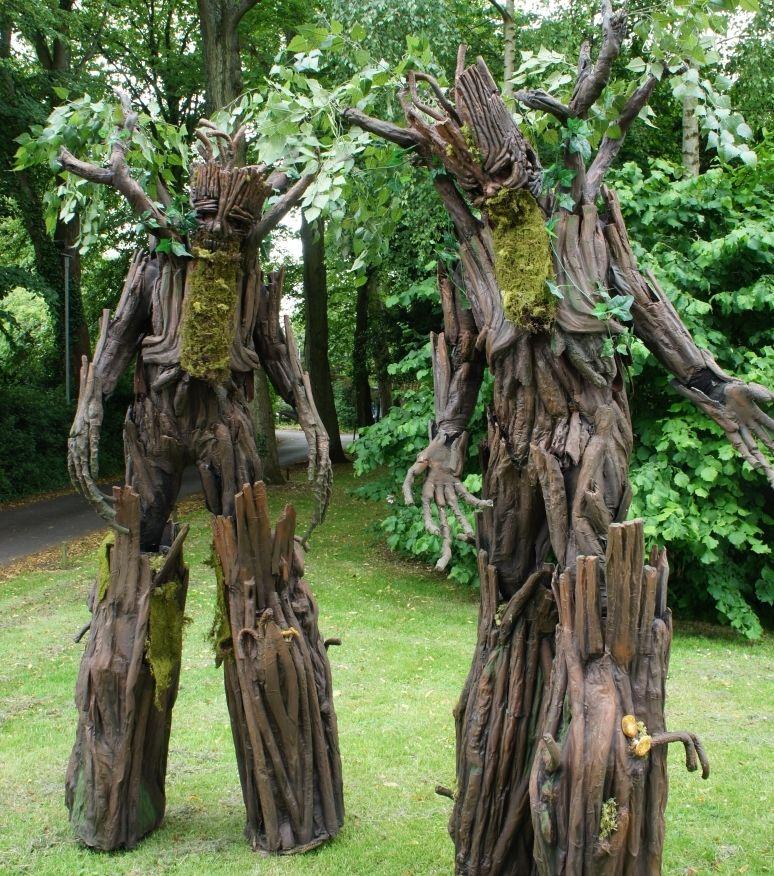 Hire / Book Tree Stilt Walkers & Tree Walkabout Act Tree