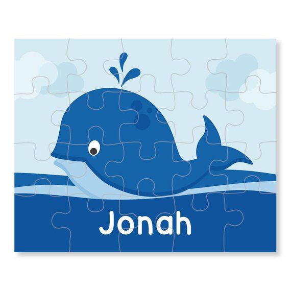 whale puzzle personalized puzzle for kids jigsaw puzzle