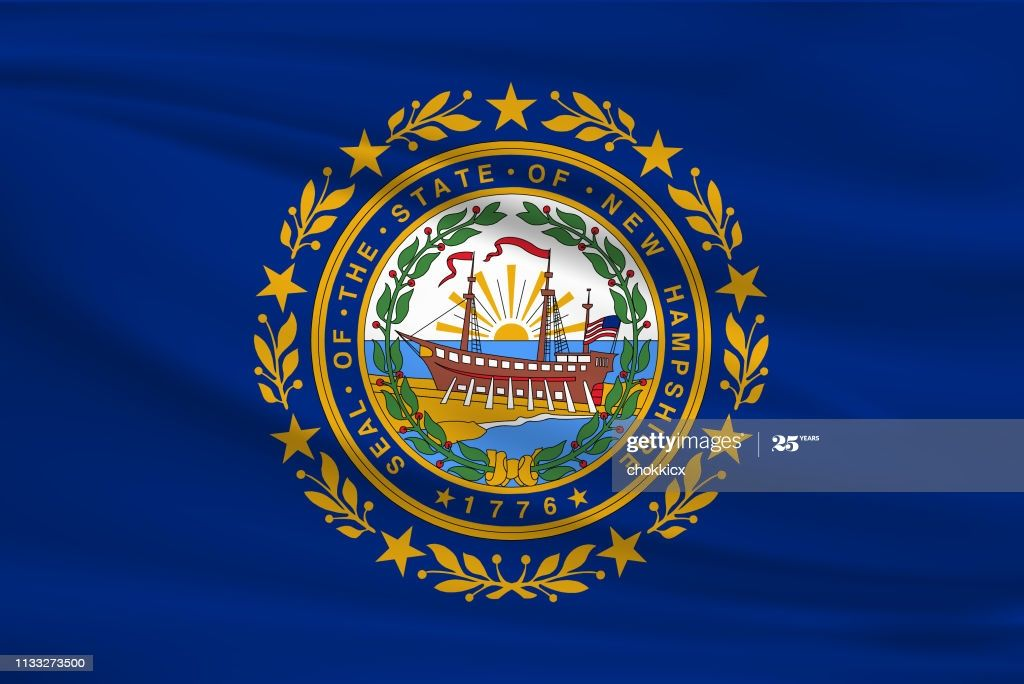 New Hampshire State Flag In 2020 New Hampshire Hamshire Hampshire