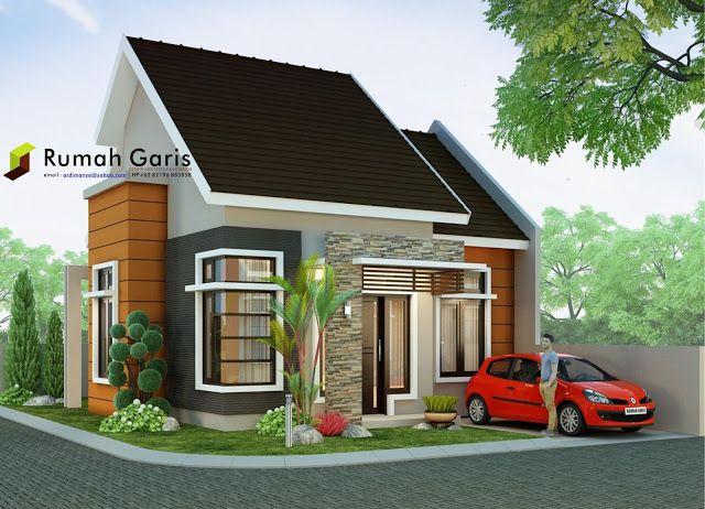 Rumah Minimalis Modern Tipe 60 Di Lahan Sudut 10x15 Meter Rumah