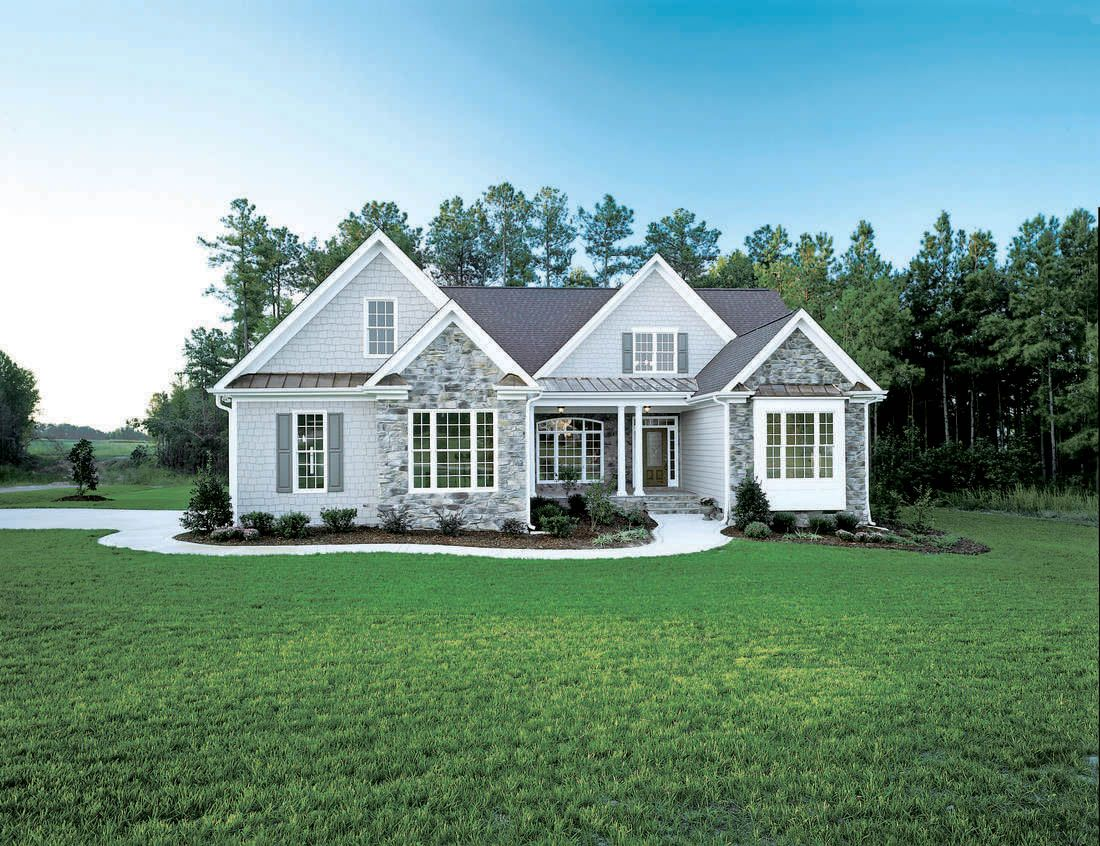 Plan of the week under 2500 sq ft the whiteheart plan for Family house plans