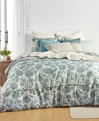 Lucky Brand Floral Batik Cotton 230 Thread Count 4 Pc