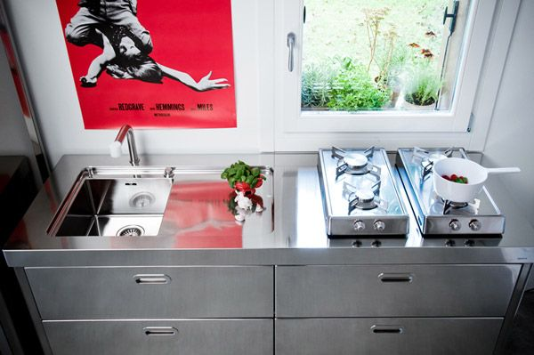Cucine free standing: Cucina [b] da Alpes Inox | Tiny Home ...