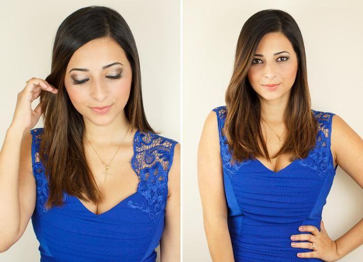 Como maquillarme si llevo un vestido azul