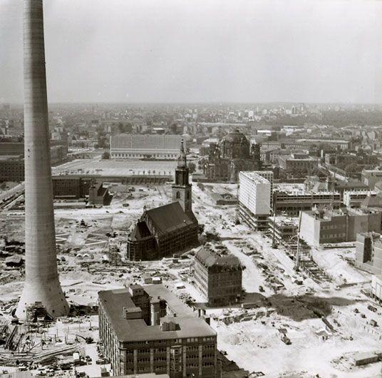 1969 Marienviertel Baustelle Fernsehturm - Der gesamte ...
