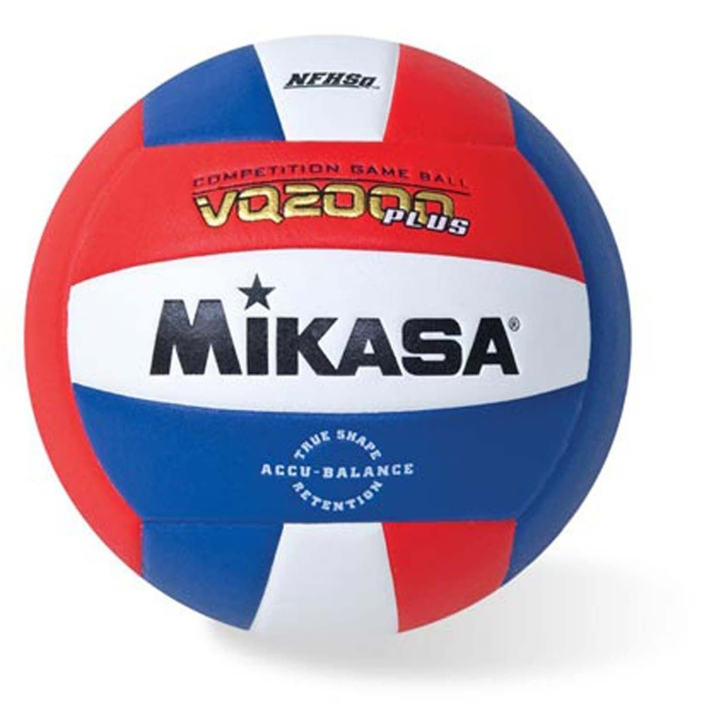Mikasa Vq2000 Red White Blue Micro Cell Composite Cover Volleyball Products Volleyball Mikasa Competition Games
