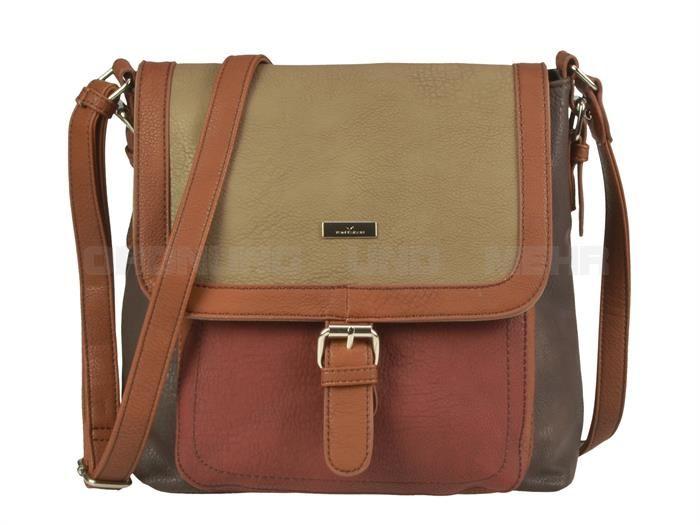 Tom Tailor JUNA - kleine Schultertasche Handtasche Damentasche - 2 Farben