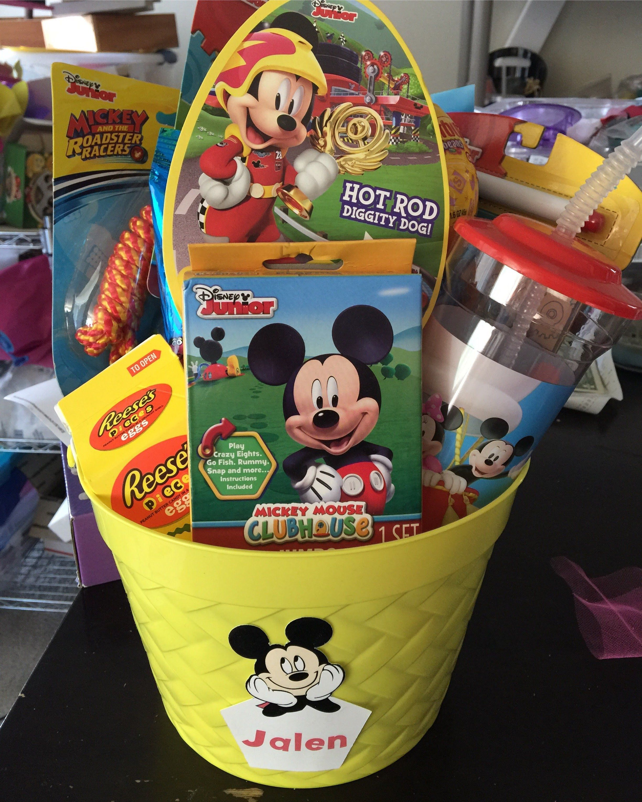 Photo of Mickey Mouse Easter Basket