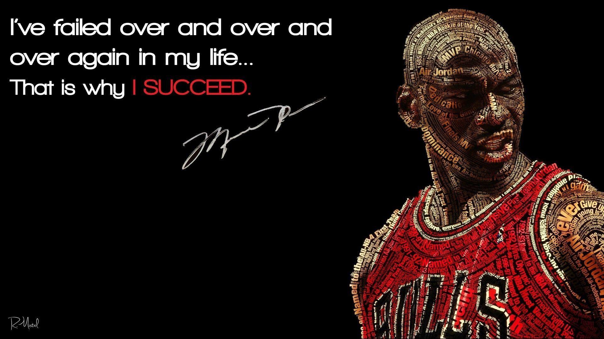 Michael Jordan Quotes Wallpaper HD Zzw Jordan quotes