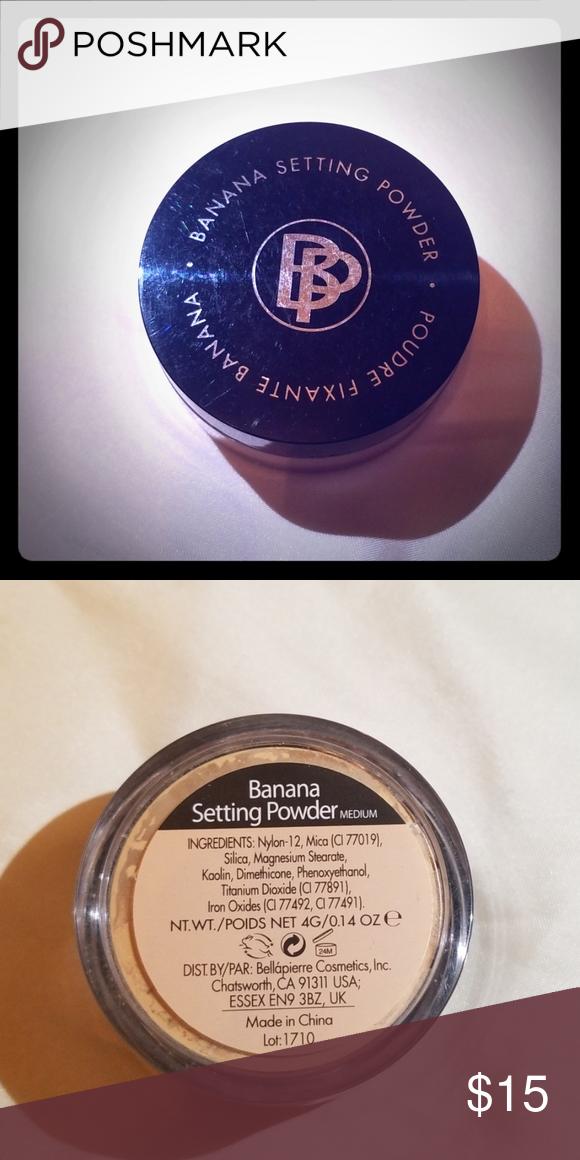 Banana Setting Powder In 2020 Banana Setting Powder Setting Powder Face Powder