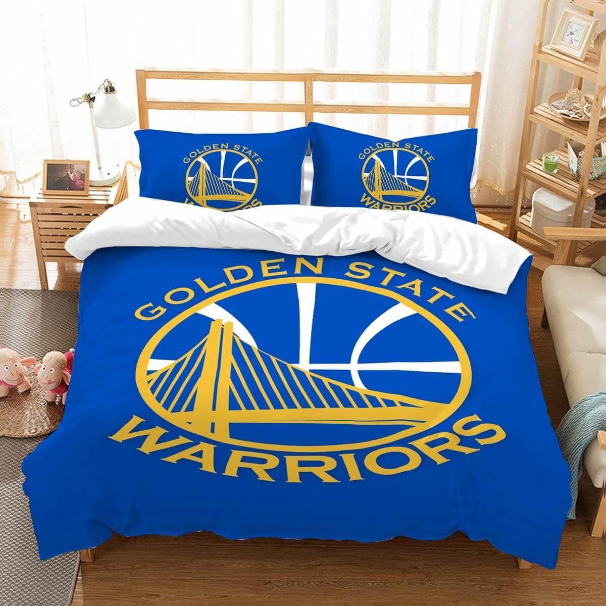 3D Customize Golden State Warriors Bedding Set Duvet Cover Set