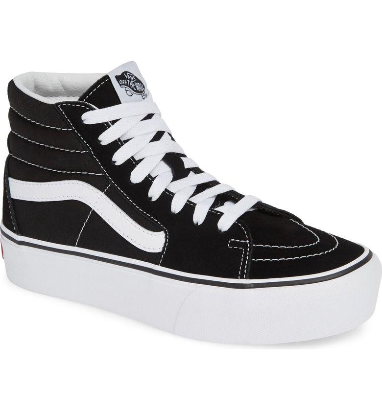 7f2c6af93ee8 Free shipping and returns on Vans Sk8-Hi Platform Sneaker (Women) at  Nordstrom