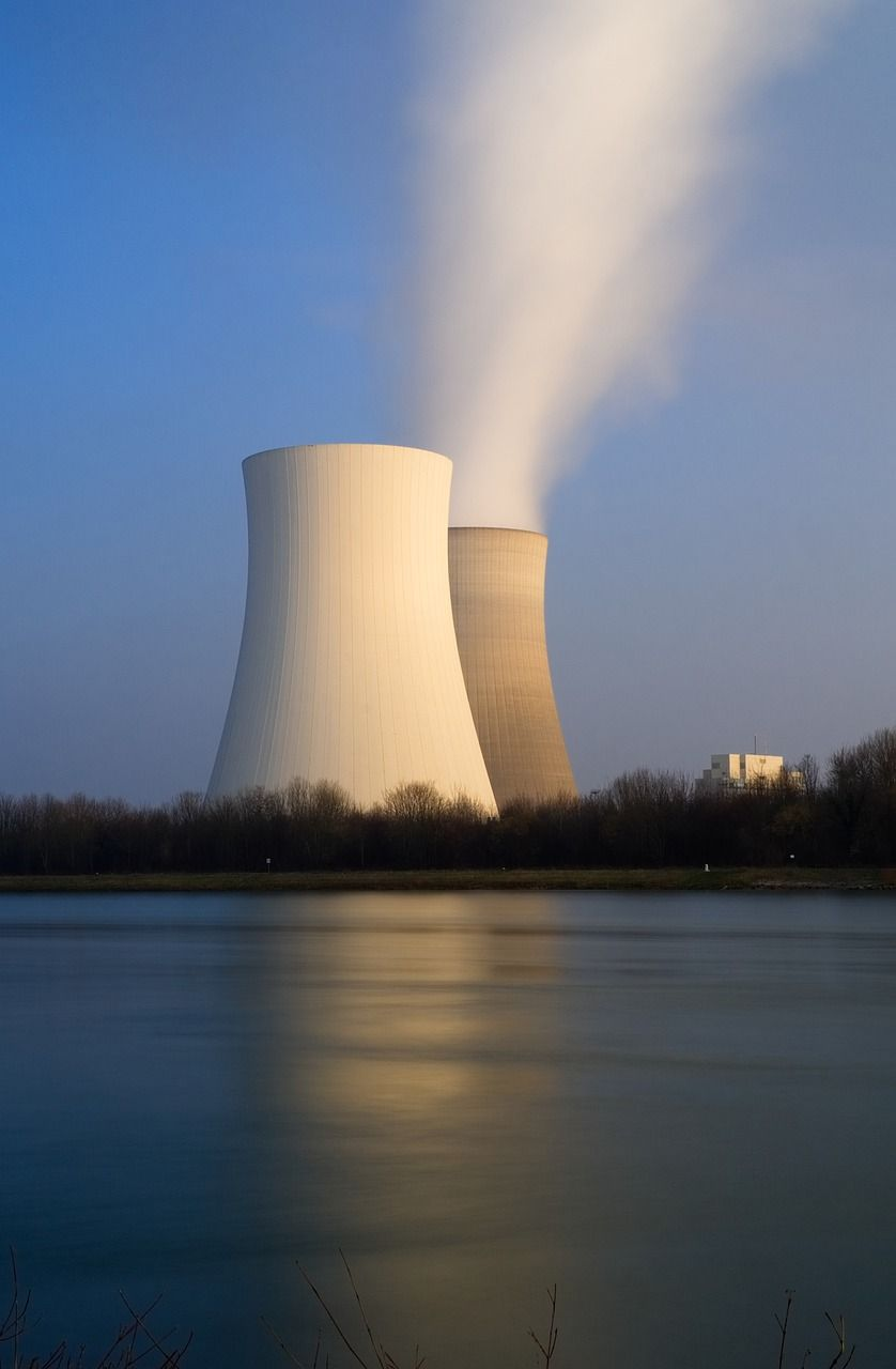 Germany Nuclear Power Plant Cooling Tower Germany