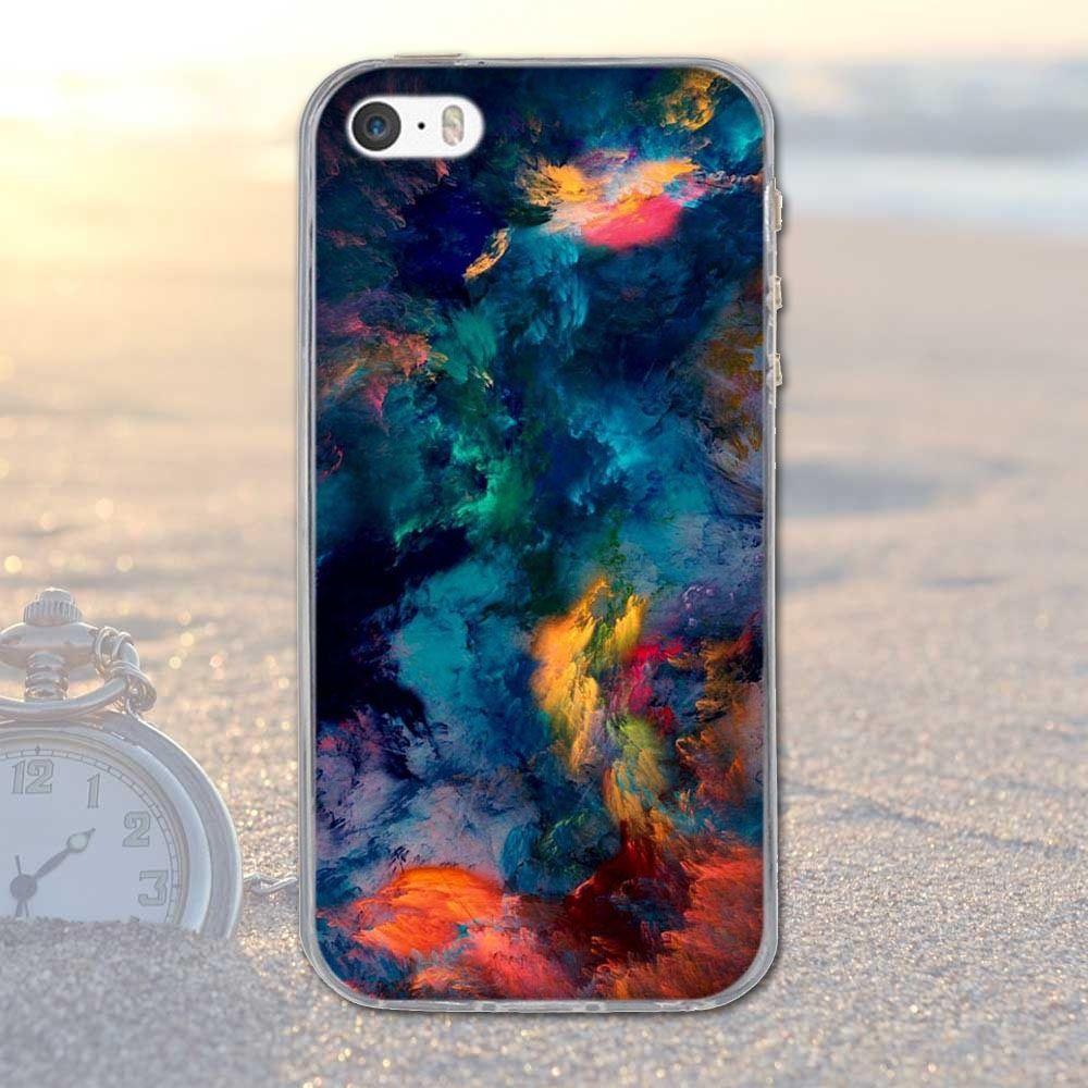 Cute Pattern Soft Silicone TPU Clear Hard Back Case Cover