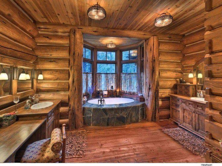 Les fustes  des maisons en rondins de bois  Best Rusti