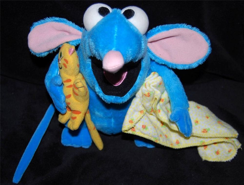 Disney Store Bear In The Big Blue House Tutter Mouse Stuffed Animal