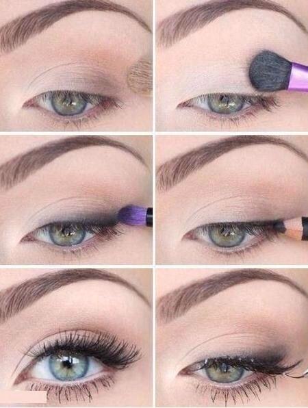 Quick & Easy Everyday Eye Makeup #eyemakeup