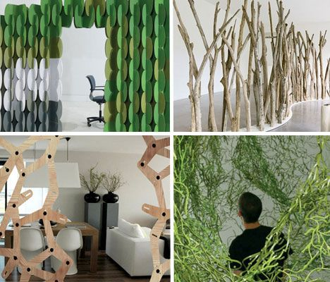 Room dividers can be works of art too as proven by these 15