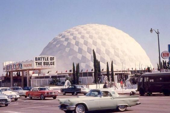 Pacific Cinerama Dome Theatre, Hollywood 1965 | Southern