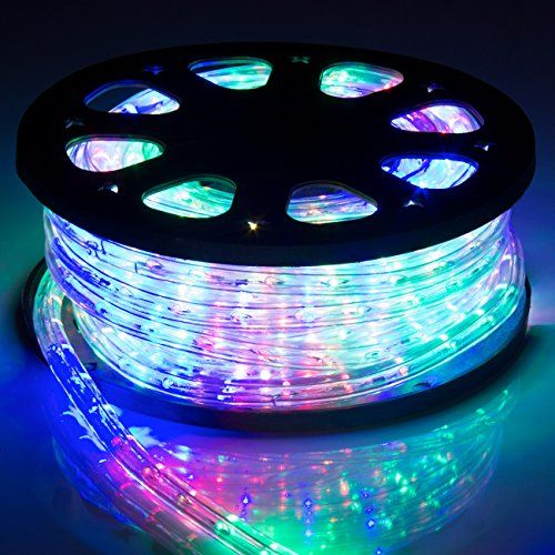Purple Rope Lights Endearing Best Choice Products 50Ft Led Rope Light Waterproof Indoor Outdoor Review