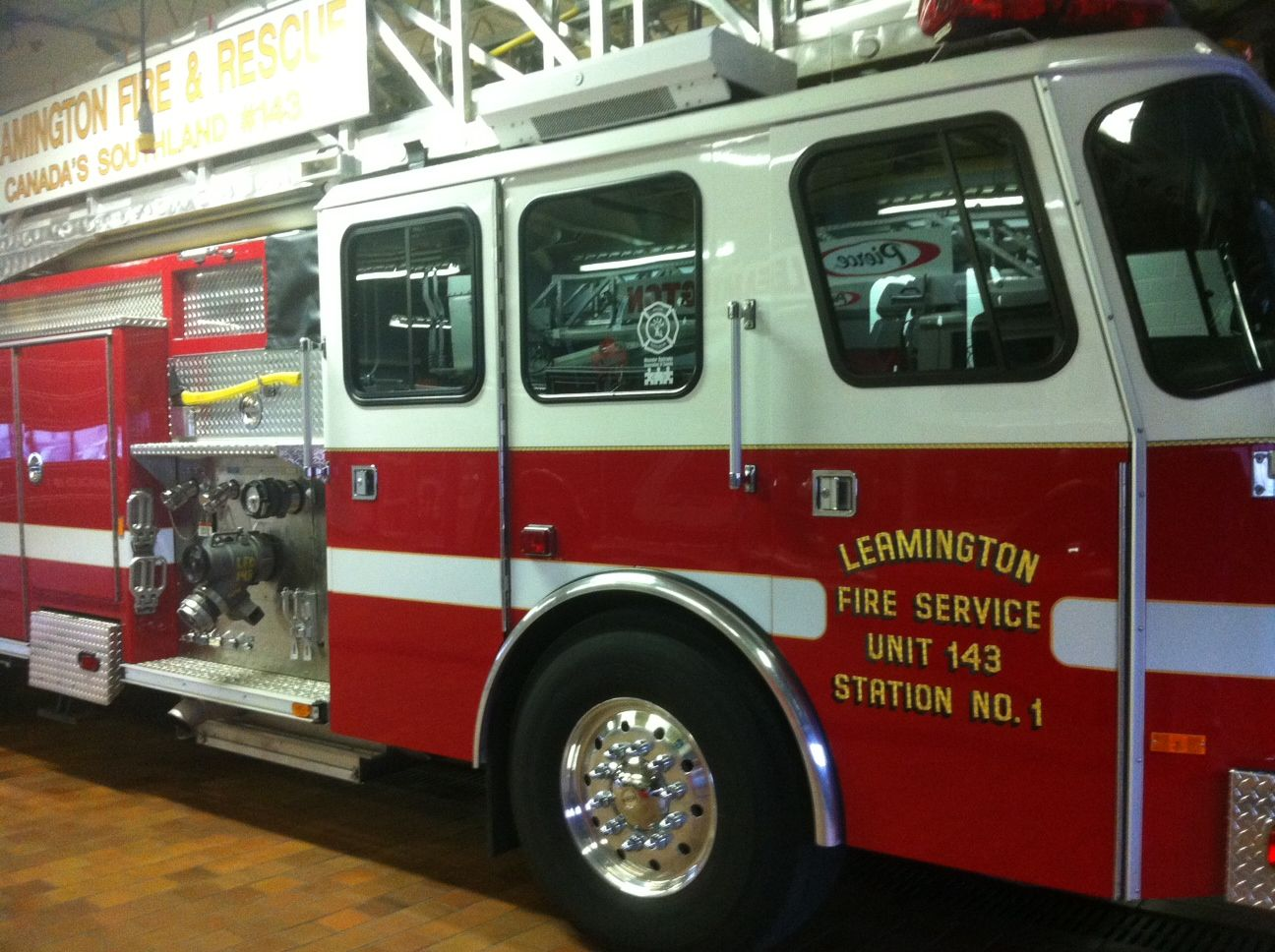 UPDATE Leamington Garage Fire Spreads Causes of fire