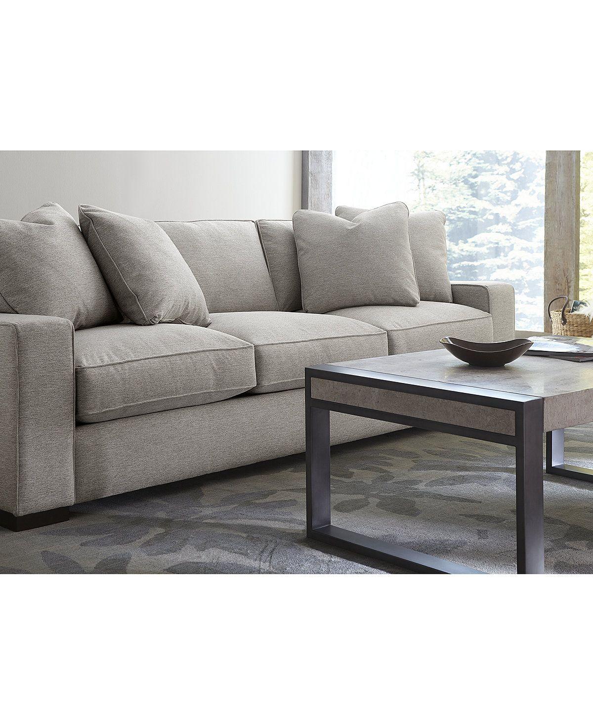 Eitelkeit Xxl Couch Dekoration Von Bangor 103 Fabric Sofa, Created For Macy