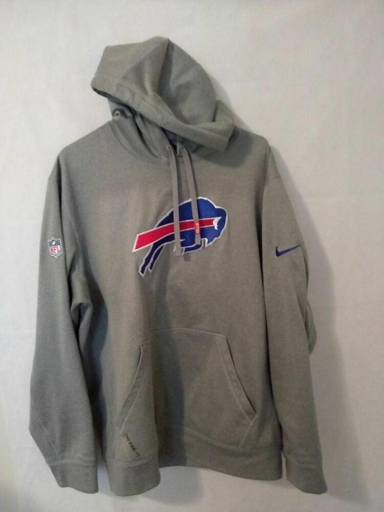 sale retailer fb370 c0c4c Buffalo Bills Nike NFL On Field sideline Therma Fit pullover ...