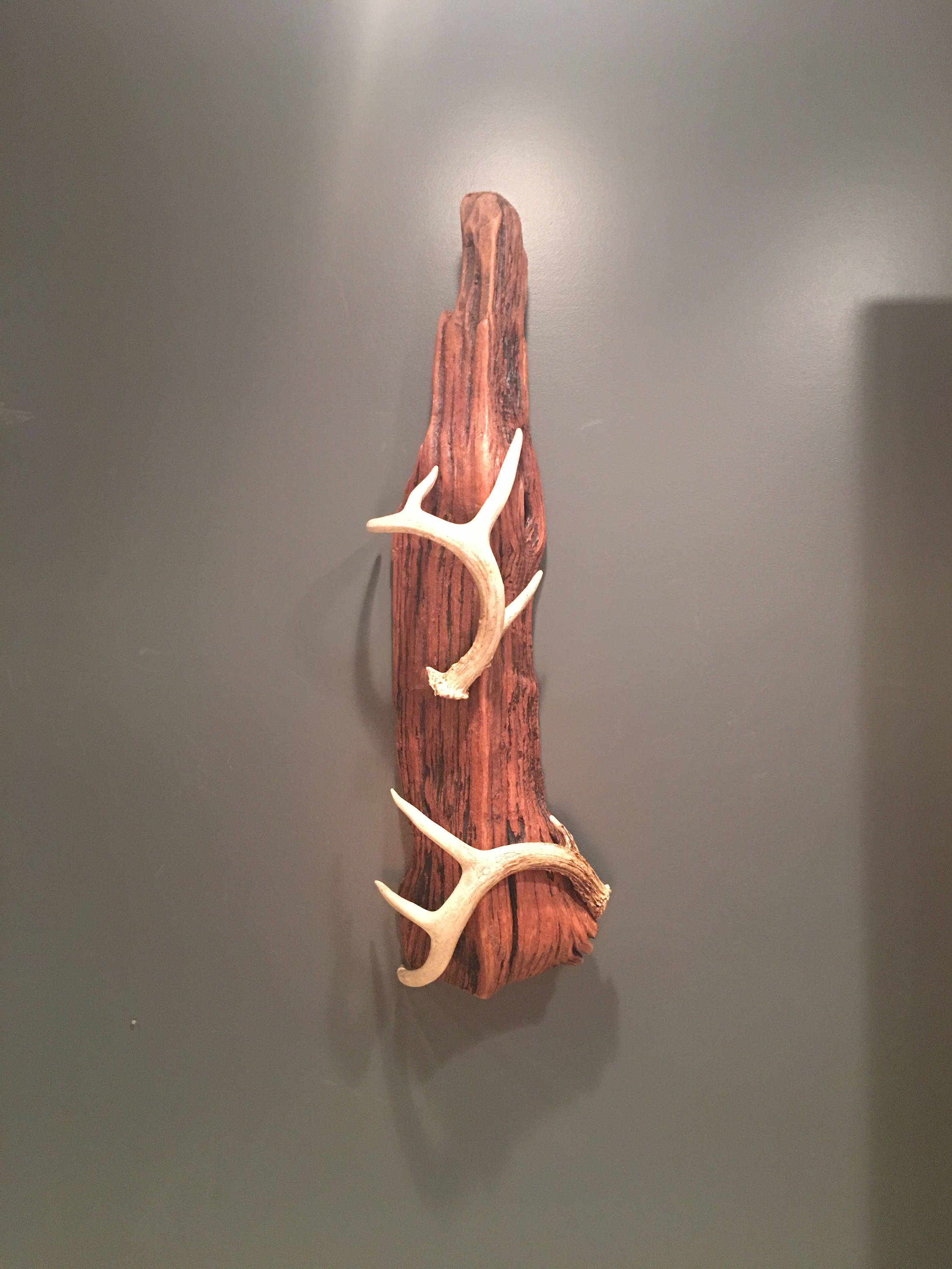 Antler Decor Outdoor Hunting Rustic Reclaimed