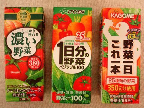 野菜ジュースは体に悪い 野菜を加熱して6分の1の体積に濃縮し 濃縮