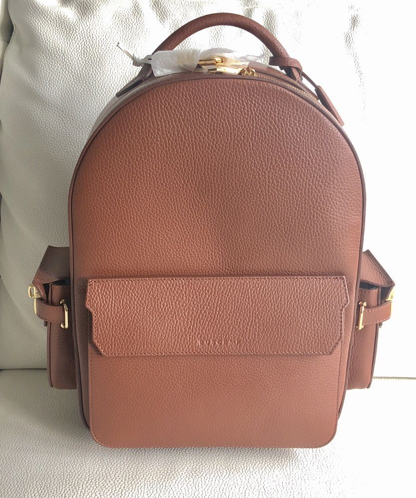 NWT  2500 Buscemi PHD Leather Backpack W  Dustbag -Brown Leather . Sz Large   fashion  clothing  shoes  accessories  unisexclothingshoesaccs ... 235f3f81ff