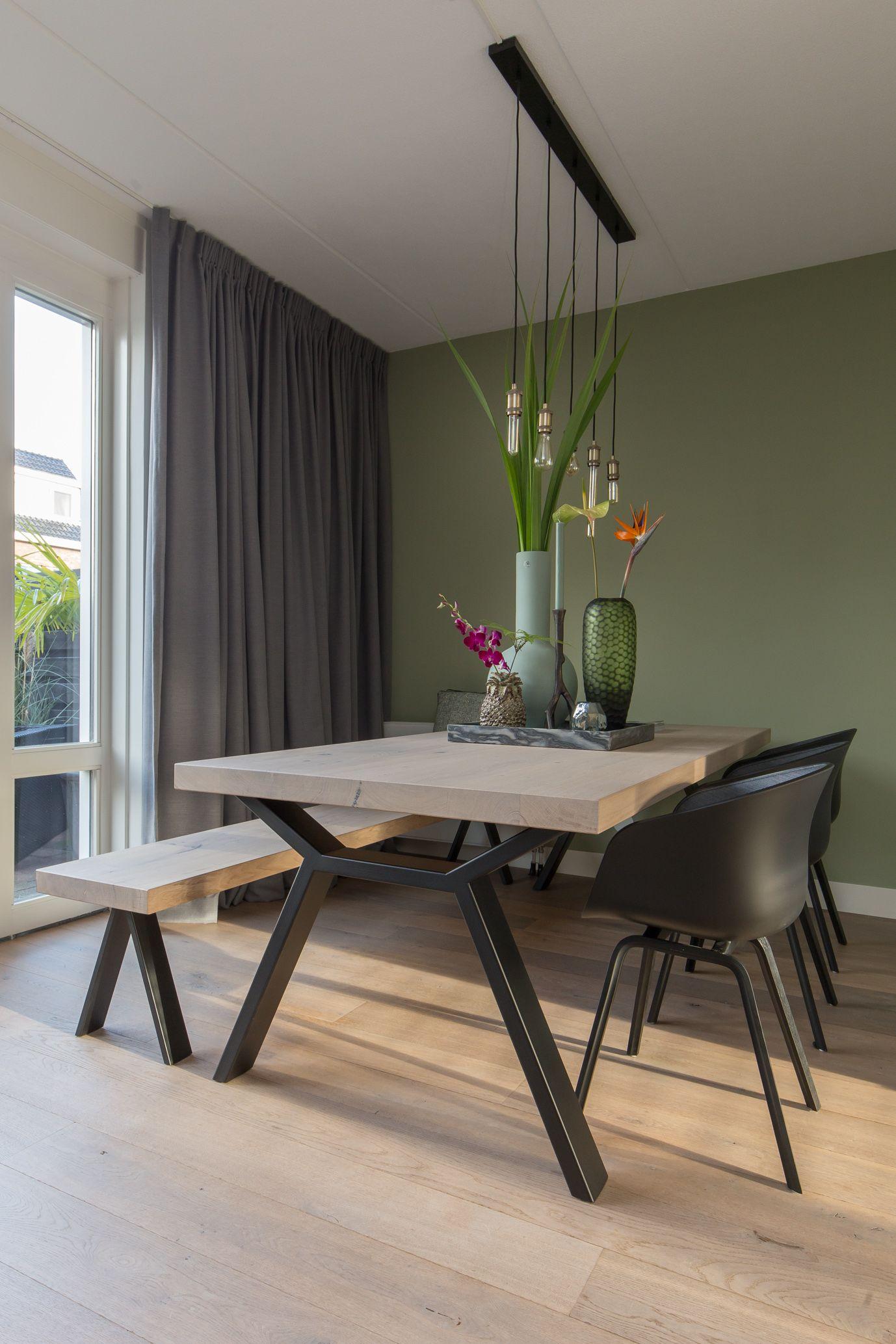 Schitterende Eetkamer Tafel.Portfolio Interieur Table Dining Room En Dining