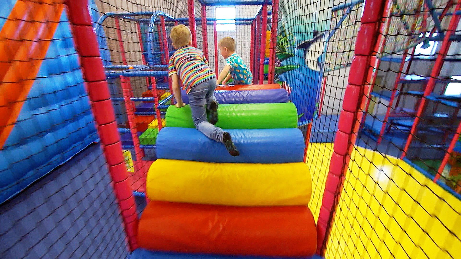 Indoor Playground Fun For Kids At Stella S Lekland Like Busfabriken