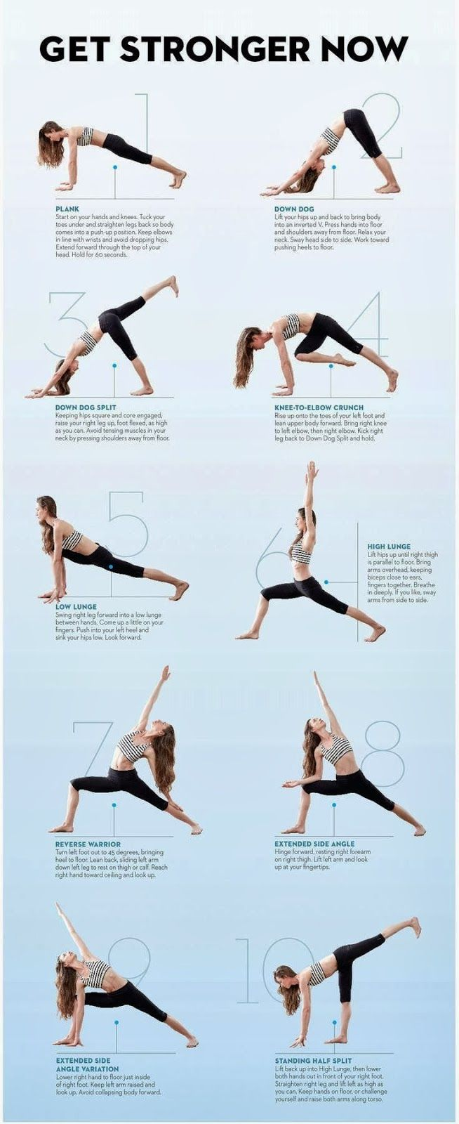 HOW TO GET STRONGER These yoga poses will help you get in shape and get stronger. www.littlevendorathletics.com