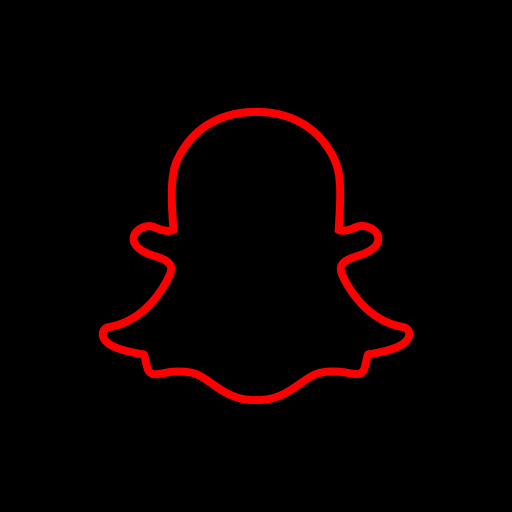 Snapchat Logo Icon Of Line Style Available In Svg Png Eps Ai Icon Fonts Wallpaper Iphone Neon Snapchat Logo Ios Icon