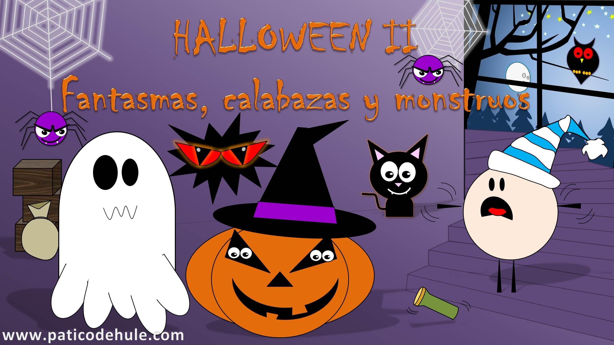 Cuento de Halloween para niños: fantasmas, calabazas y monstruos ...
