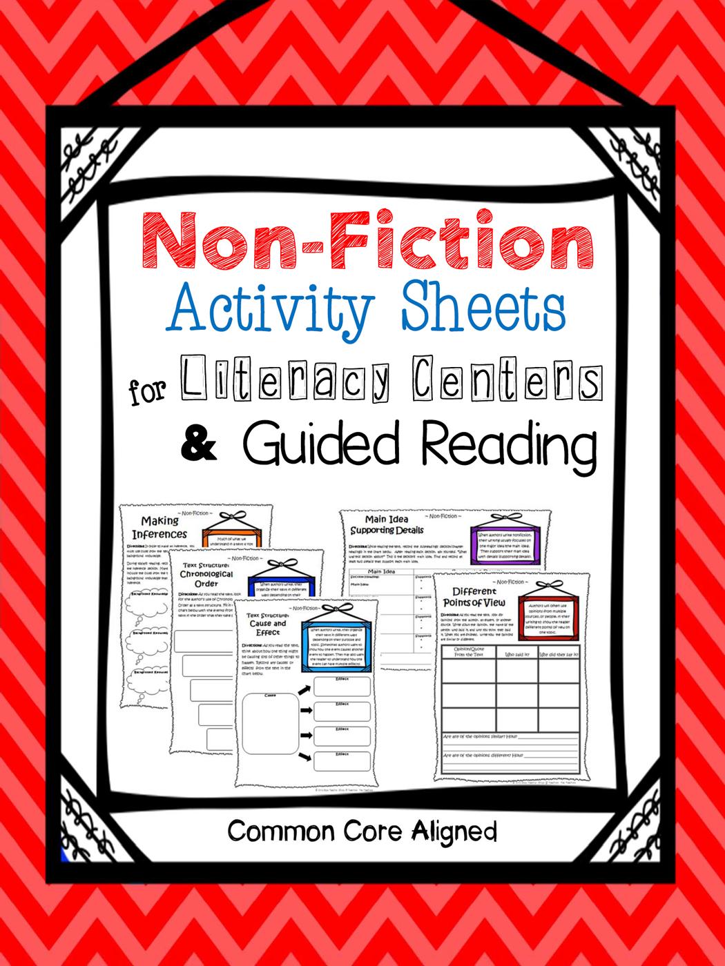 Nonfiction Reading Centers