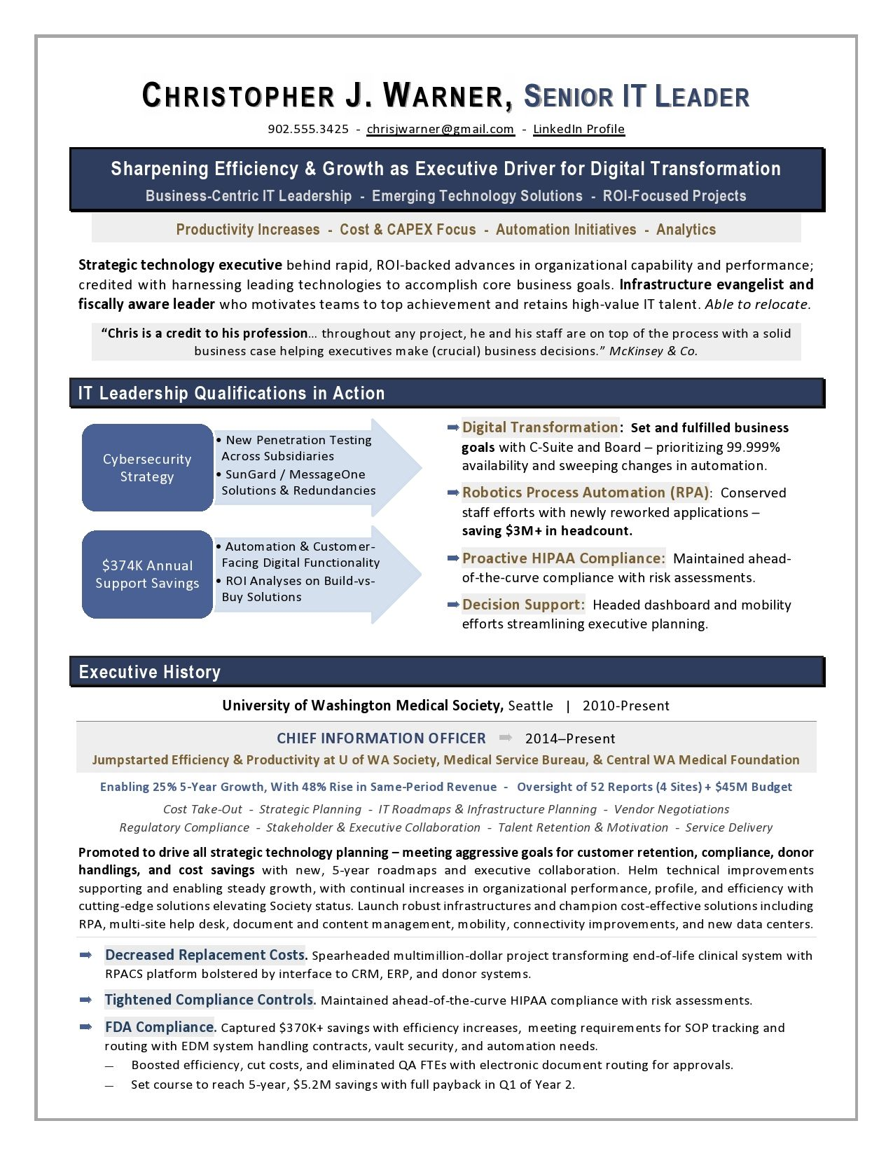 View Best Executive Resume Examples Gif In 2021 Executive Resume Cover Letter For Resume Resume Examples