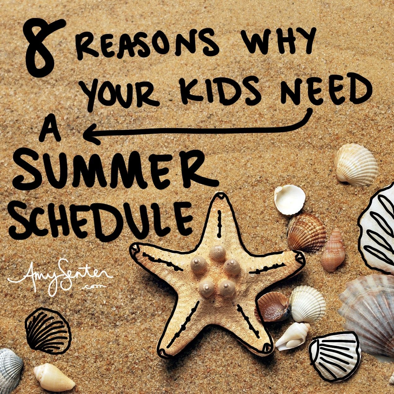 8 Reasons Why Your Kids Need A Summer Schedule