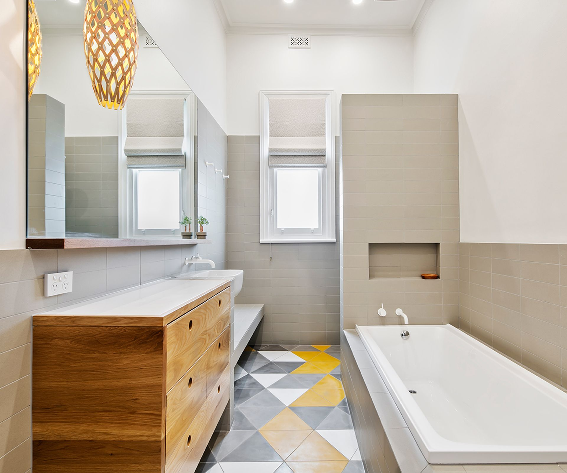 Before And After: Family Bathroom | Family bathroom, Joinery and House