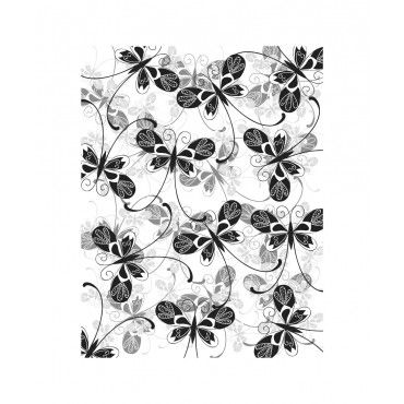 Butterfly shadows - 693 - Rubber Stamps