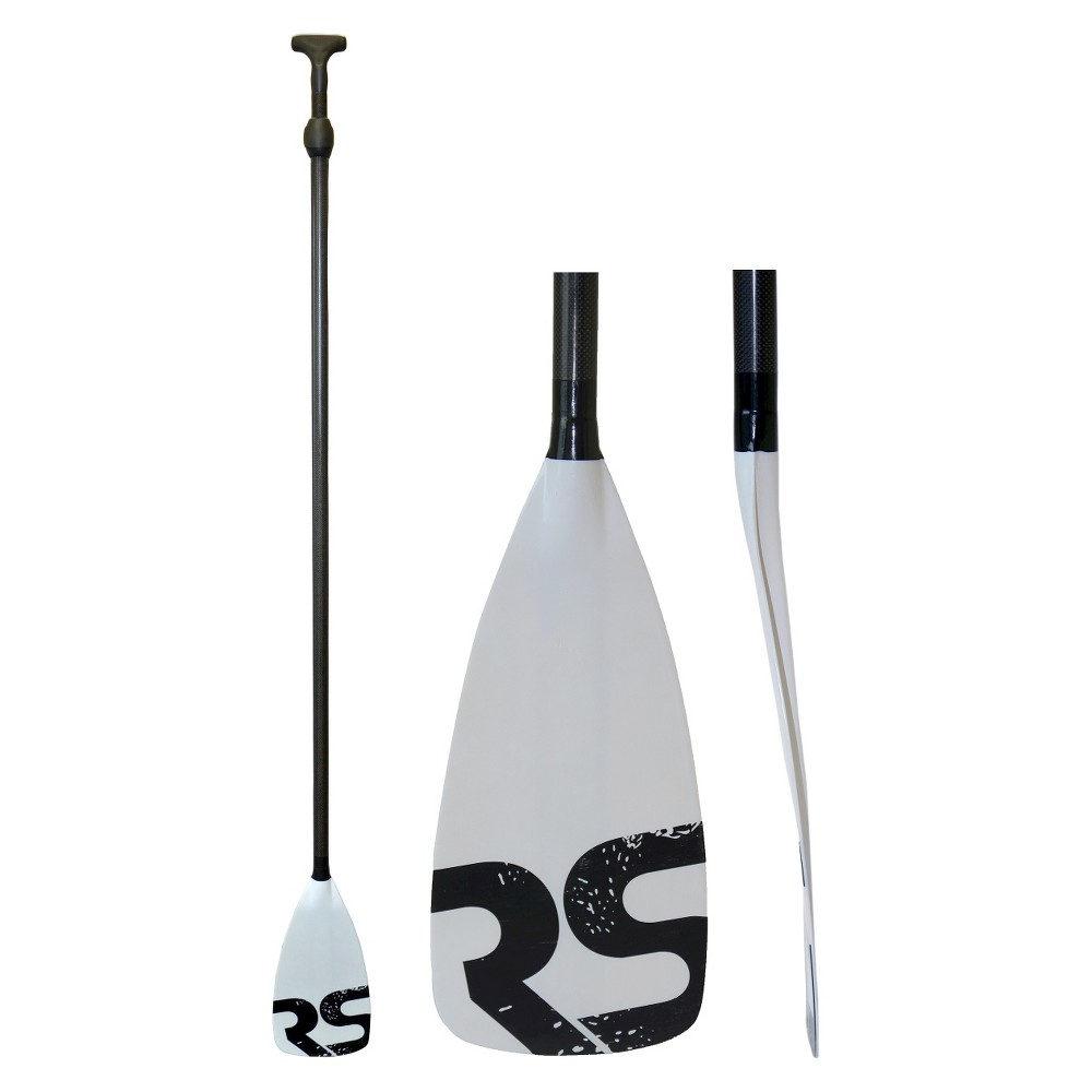 Rave Sports Tempo Carbon Fiber/Fiberglass Stand Up Paddle Board Paddle - Red, Clear