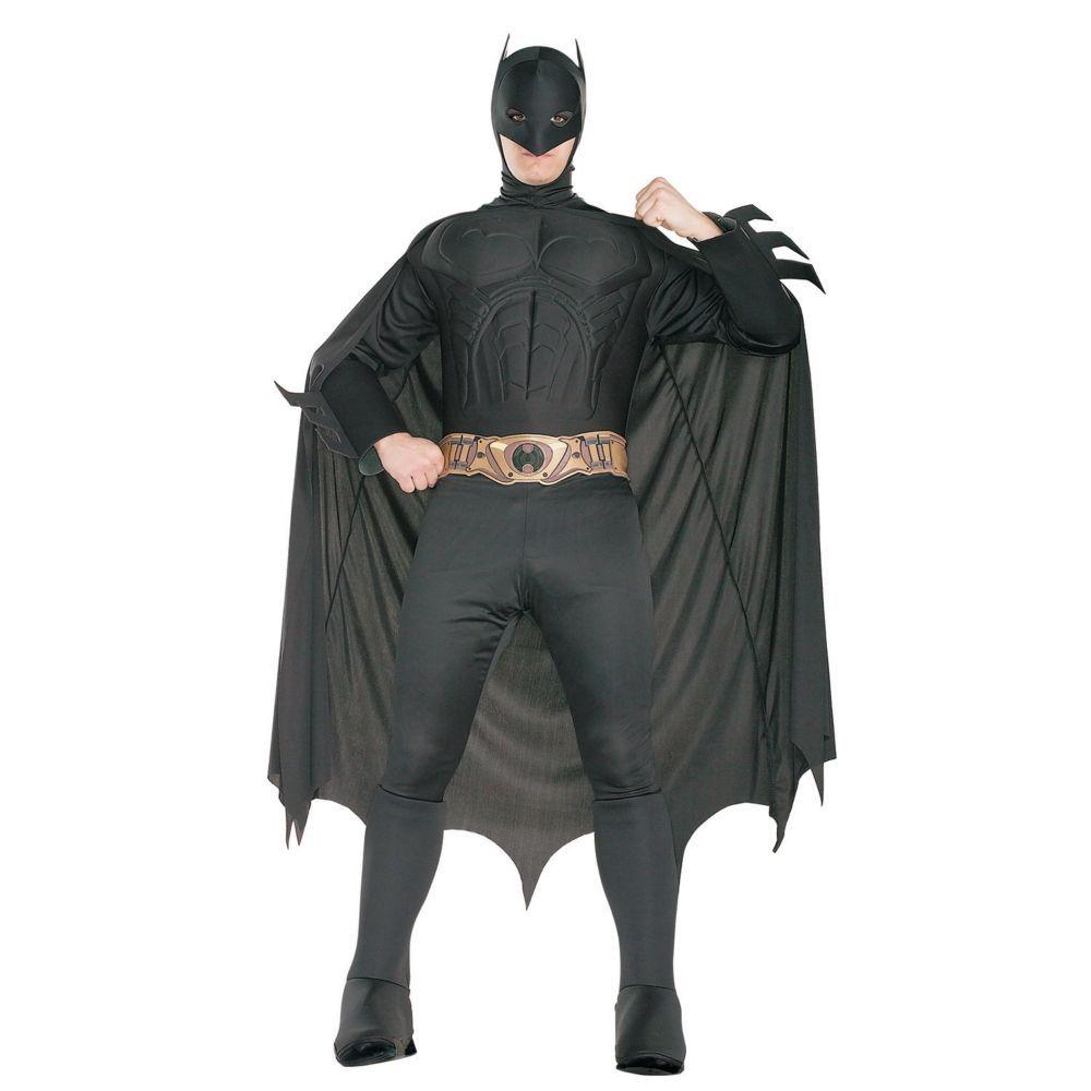 Deluxe Batman Begins(TM) Batman Halloween Costume for Men | Batman ...